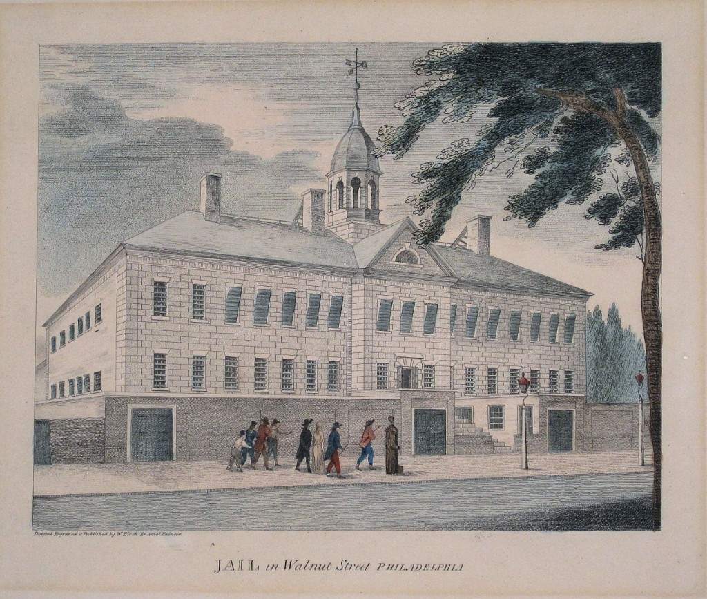 Walnut Street Jail - 1774